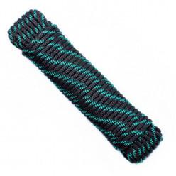 Шнур якорный 10мм 30м черно-зеленый (черно-синий) (евроупаковка)