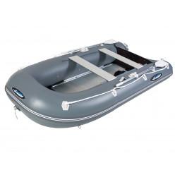 Лодка Gladiator B370AL темно серый