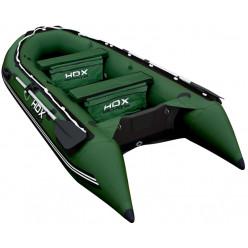 Лодка ПВХ надувная HDX OXYGEN 330 Airmat зеленый