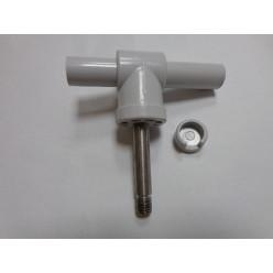 Ремкомплект уключины серый мет.штырь+поворотный шарнир