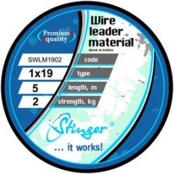 Поводковый материал 19 нитей SWLM1905 5кг 5м