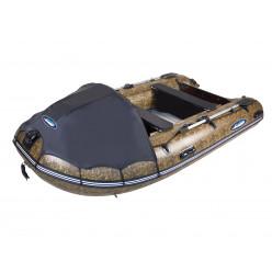 Лодка моторная Gladiator C370AL камуфляж/камыш