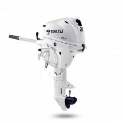 Лодочный мотор Tohatsu MFS 20 EW S NEW белый 4 тактный
