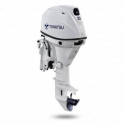Лодочный мотор Tohatsu MFS 30СW EPTL 4 тактный NEW белый
