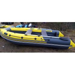 Лодка надувная SKAT TRITON 350 темно-серый/желтый