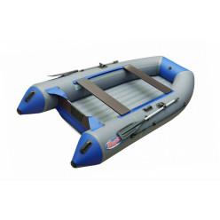 Моторная лодка ПВХ Zefir 3500 LT серый/синий