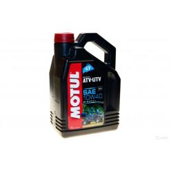Мотороное масло MOTUL ATV-UTV 4T 10W40 4л