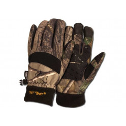 Перчатки-варежки флис Mossy Oak Break Up(XL)
