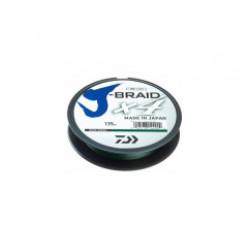 Плетеный шнур J-BRAID*4E 135м 0.14мм Dark green