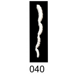 """Приманка плавающая """"Личинка 4-х частная"""" 3,7""""/9,5 см., 3.0 гр., цвет 040 (уп/3 шт.)креветка"""