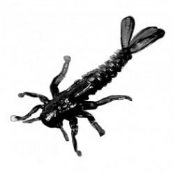 Силиконовая приманка Microkiller поденка цв.оливковый (12шт) 30мм