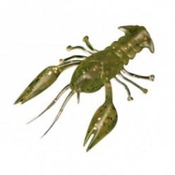 Силиконовая приманка Microkiller рачок №01 цв.болотно-зеленый (6шт) 40мм