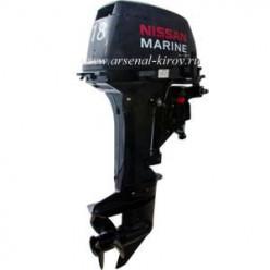 Лодочный мотор NISSAN NS 18 E2 EP1  электро дист 43кг