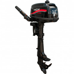 Лодочный мотор HDX Т 5,8 BMS R-series 2-тактный