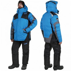 Костюм зимний Alaskan Anchorage черный/серый/синий р.XL