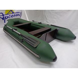 Лодка Арсенал Standart 3000 плоское дно 6мм зеленая с полом