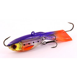 Балансир XP BAITS Ice Jig Butterfly 60мм\10гр #32 Violet Orange Speck