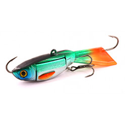 Балансир XP BAITS Ice Jig Butterfly 60мм\10гр #43 Green Silver Scout