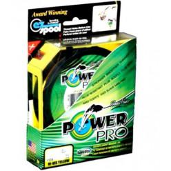 Плетеный шнур Power Pro 275м Moss Green 0.56мм 75кг