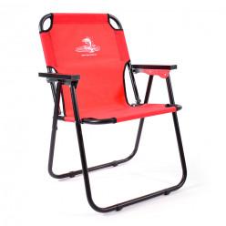 Кресло-шезлонг Кедр сталь красный SK-08R