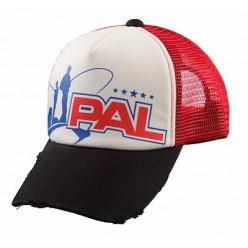 Бейсболка PAL CapPC-1601 красная сетка