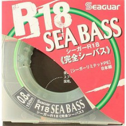 Шнур  Seaguar R18 Sea Bass (PE8) 0.205мм 150м зеленая