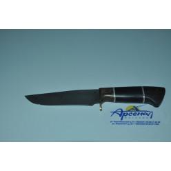Нож Егерь дамаск литье