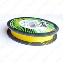 Плетеный шнур Power Pro 135м Hi-Vis Yellow 0.15мм 10LB