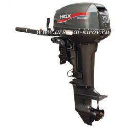 Лодочный мотор HDX Titanium Т 15 BMS 2-тактный
