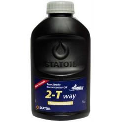 Моторное масло Statoil 2-TWAY SNOWMOBIL полусинтетическое для снегоходов 10л