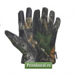 Перчатки флис однослойные КМ L, Realtree