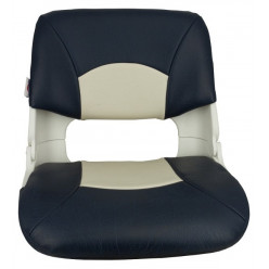 Кресло складное мягкое SKIPPER серый/синий 1061019