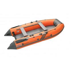 Моторная лодка Roger Zefir 3700 NEW (цвет оранжевый/темно-серый) НДНД