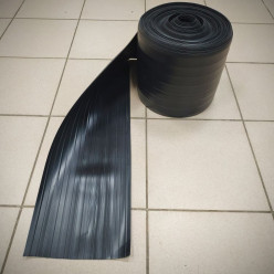 Защитная лента черная для лодок ПВХ 235мм
