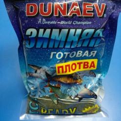Прикормка DUNAEV CP Зима готовая Плотва 750гр