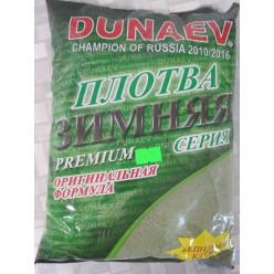 Прикормка DUNAEV CP Зима Премиум Плотва 900гр