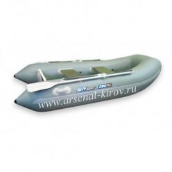 КАТЕР Sky Boat 280RС сер пл/т-сер балл скл дно