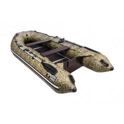 Моторная лодка Ривьера Компакт 3400 СК Камуфляж камыш