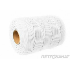 Шнур StartLine 6,0 мм, 1м, белый