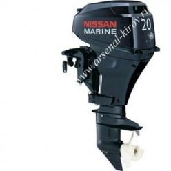 Лодочный мотор NISSAN NSF 20 C EP1 53кг электро дист