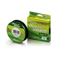 "Плетёный шнур ALLVEGA ""Bullit Braid""135м,тёмно-зелён. 0,12мм(7,1кг)"
