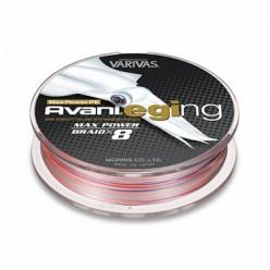 Плетеный шнур Varivas Avani Eging Max Power PE 150м 0.6 (0,128мм)