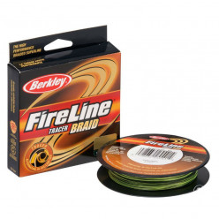 Плетеный Шнур Berkley Fireline Tracer Braid 110м 0.35мм
