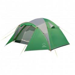 Палатка Дом 2 зелёный св.серый