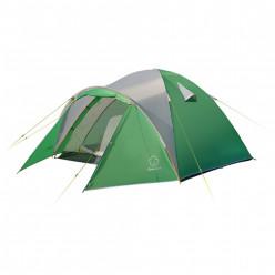 Палатка Дом 3 Зелёный св.серый