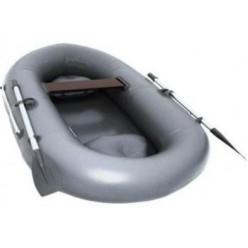 Лодка гребная TUZ 240 с надувным полом