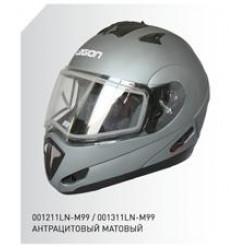 Шлем (кросс) МС130 черн.мат.(L) MICHIRU