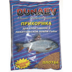 Прикормка DUNAEV CP плотва 900гр