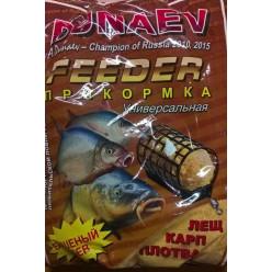 Прикормка DUNAEV унив.фидер 900гр