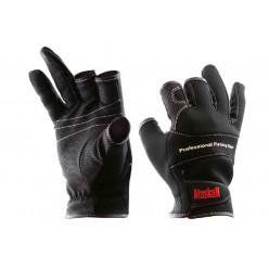 Перчатки спиннингиста Alaskan трехпалые  L